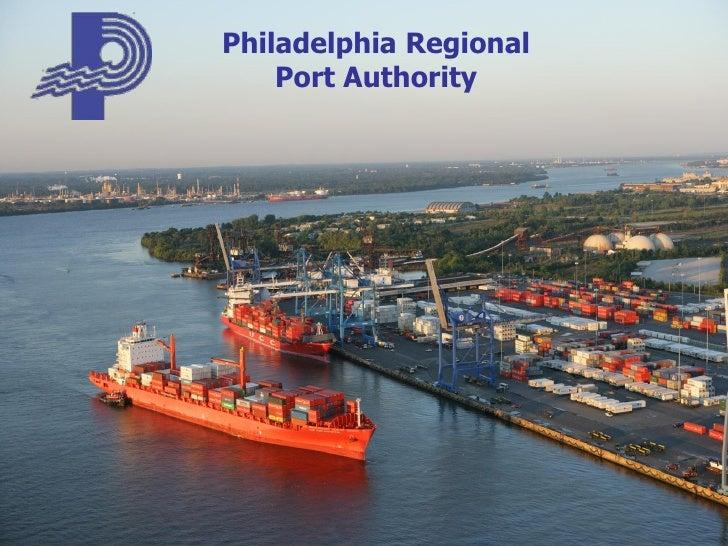 Port of Philadelphia Overview