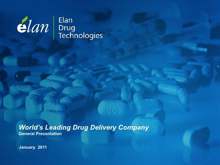 World's Leading Drug Delivery Company