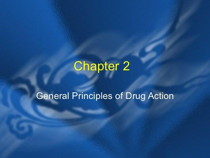 General principles of drug action