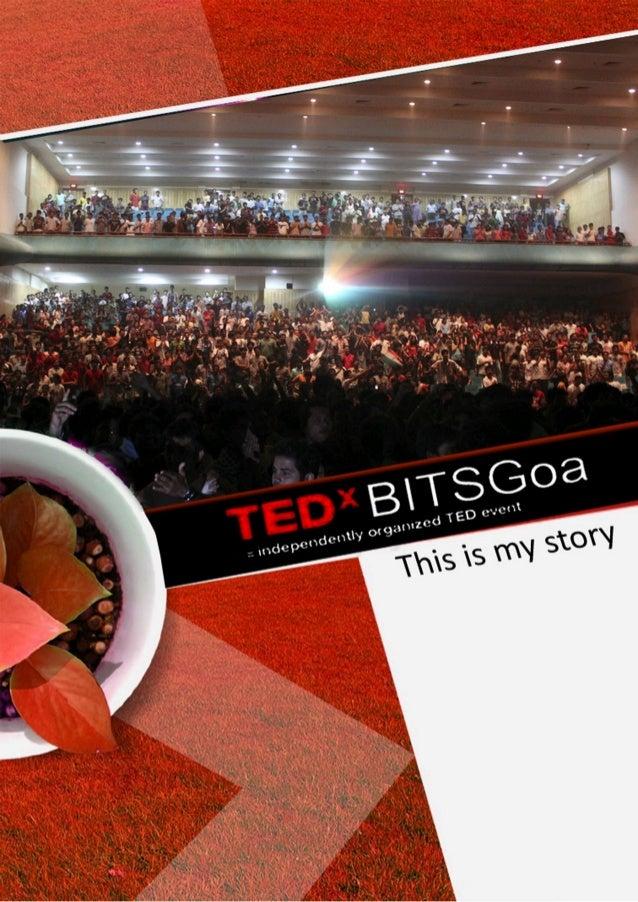 TEDxBITSGoa 2012 : Marketing Proposal