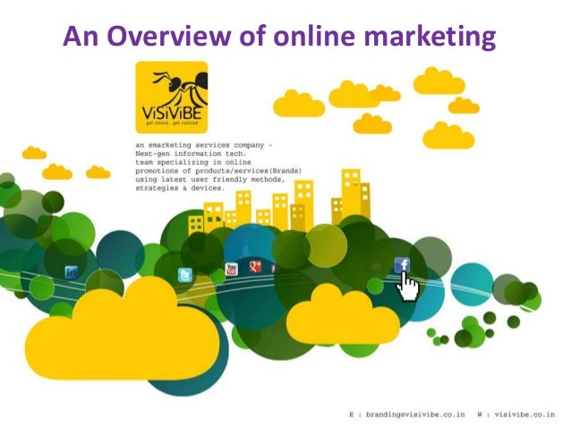 An Overview of online marketing