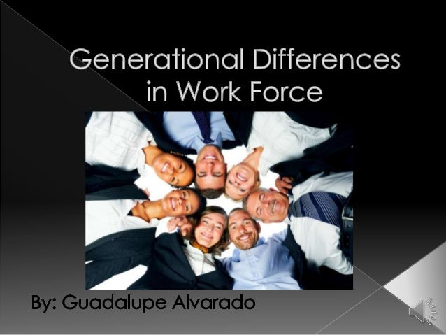 generational differences essay Generational workers in a contemporary employment setting and to identify how these perceptions generational differences in perceptions of.