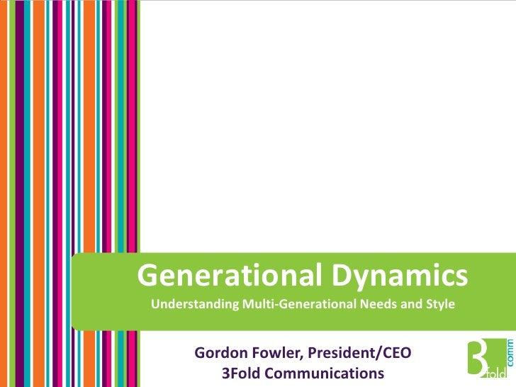 Multi-Generational Marketing