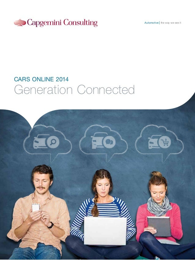 Generation connected: Cars online 2014