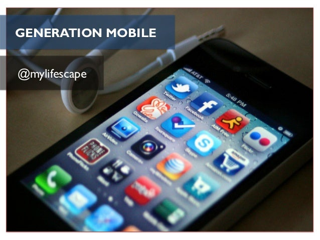 GENERATION MOBILE@mylifescape