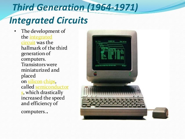 Computer Generations - Which Computer Generation is ...