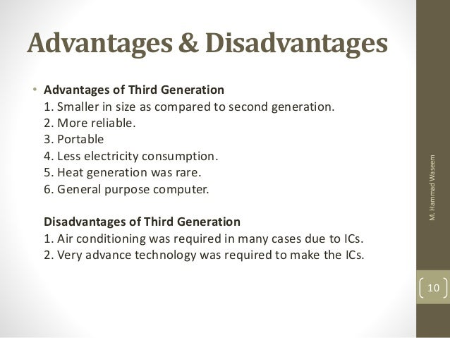 advantage and disadvantage of computer for young generation Advantages and disadvantages of internet,pros and cons of internet is basic need of young generation advantages and disadvantages of computer.