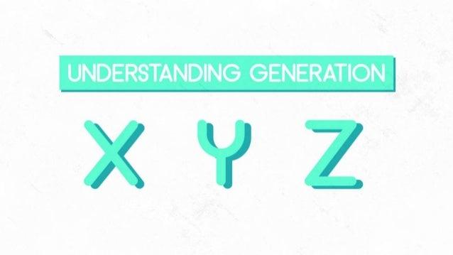 Understanding Generation xyz