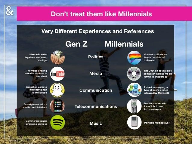 Generation z online dating