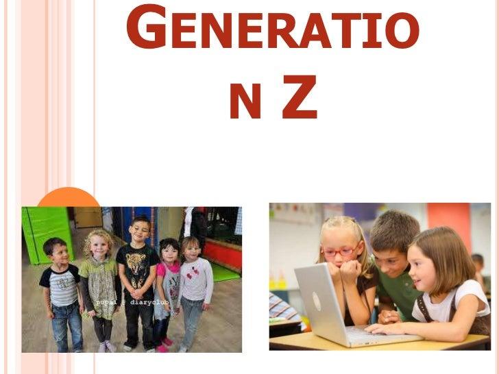 Generation z  powerpoint