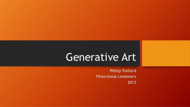 Generative Art Hands On with F#