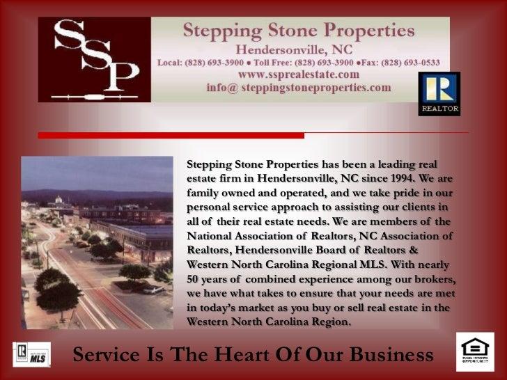 Stepping Stone Properties- Listing  Presentation