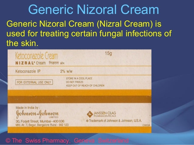 Generic Nizoral Cream for  Treating  Fungal Infections of the Skin