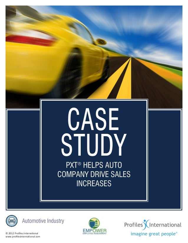 Profile XT helps auto company drive sales increases-sbp