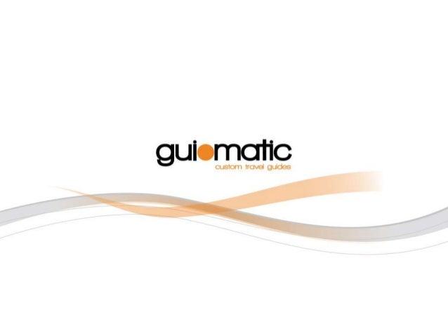 Guiomatic Solutions Brochure Summer 2013