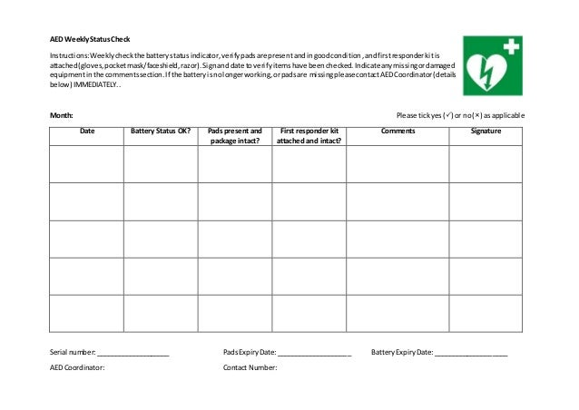 Company car maintenance checklist template 15
