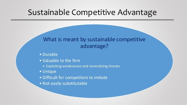 wal marts sustainable competitive advantage Walmart swot analysis and competitive advantages download here key issues/discussions:--to what extent is wal-mart's performance attributable to industry.