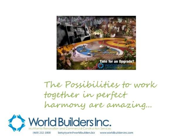 World Builders Vendor Package