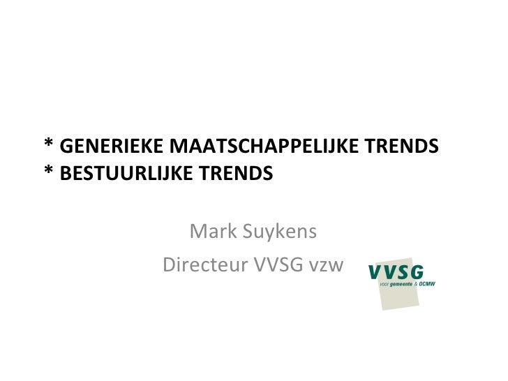 Generieke Trends