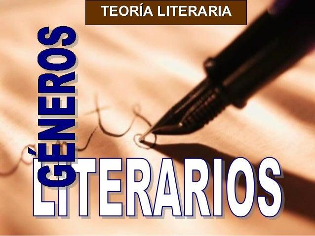 Generos y figuras literarias
