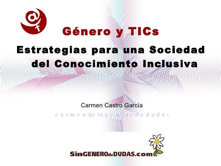 Genero y TICs