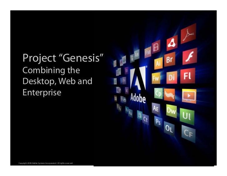 "Adobe ""Genesis"" Overview @ Office 20"
