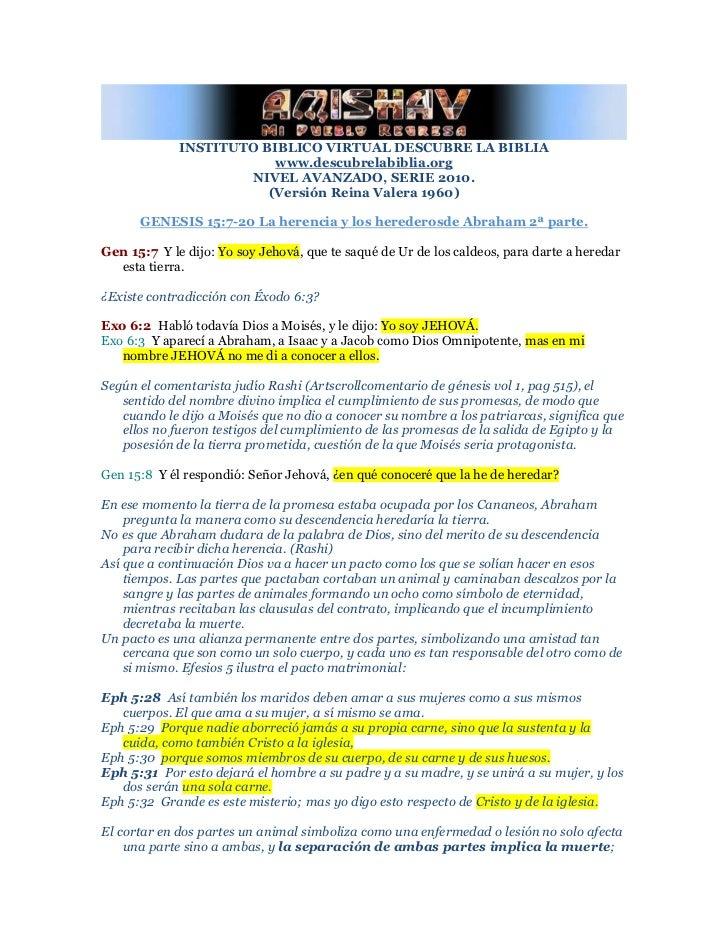 INSTITUTO BIBLICO VIRTUAL DESCUBRE LA BIBLIA                         www.descubrelabiblia.org                     NIVEL AV...