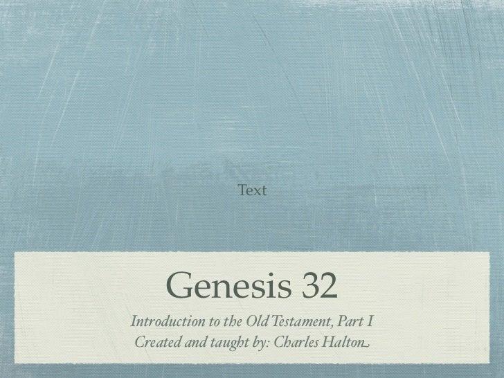 Genesis 32