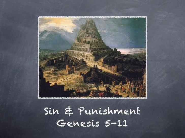 Sin & Punishment   Genesis 5-11