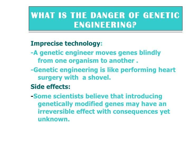 genetif enginering essay