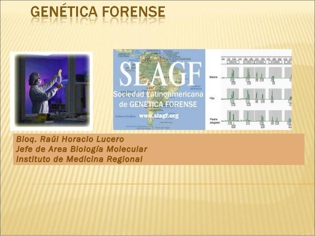 Curso biologia forense