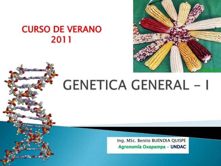 Genetica general 1