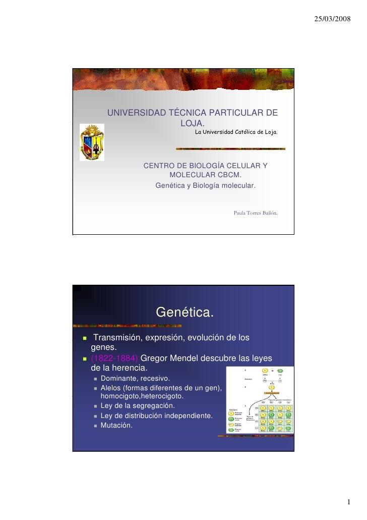 25/03/2008         UNIVERSIDAD TÉCNICA PARTICULAR DE                   LOJA.                   LOJA                       ...