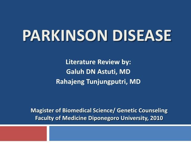 Genetic Basis Of Parkinson Disease