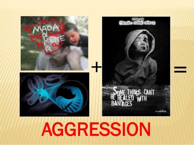 + AGGRESSION  =