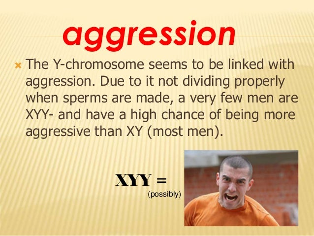 genetic factors in aggressive behavior Human beings show the highest levels of aggressive behavior the results of the study also demonstrated that genetic factors influencing aggression at age 6.