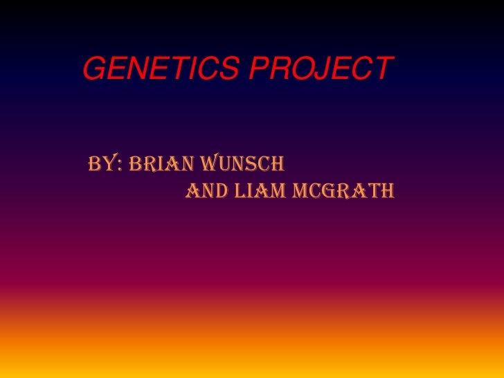 Genetics project (2)