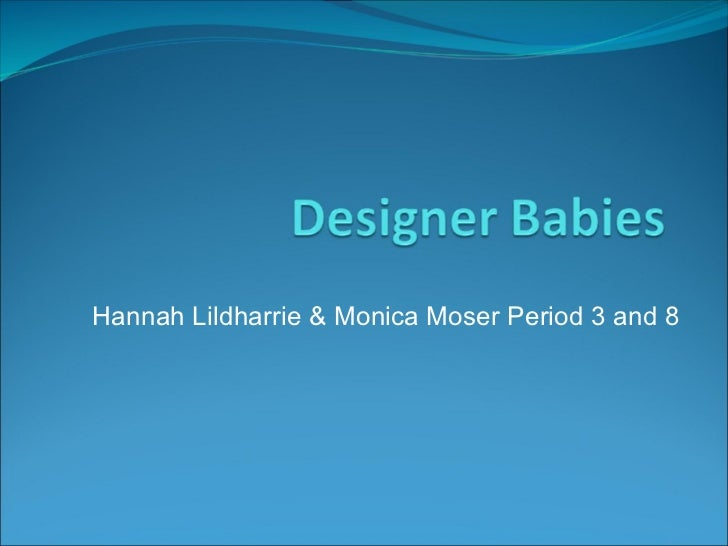 Hannah Lildharrie & Monica Moser Period 3 and 8