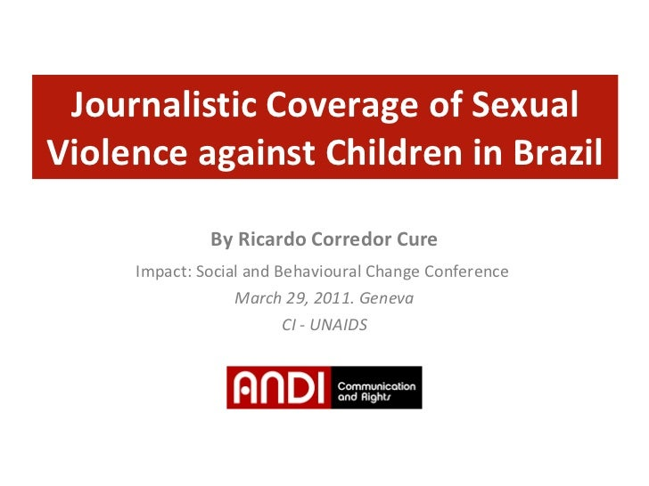 Jornalistic Coverage of Sexual Violence against Children in Brazil