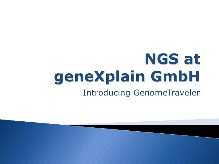 GenomeTraveler