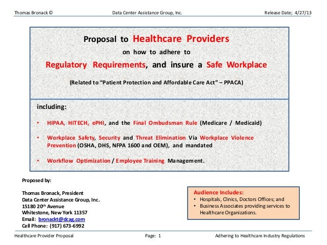 Updated Healthcare Industry Compliance Presentation