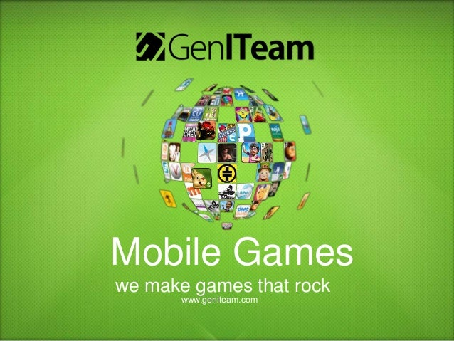 GenITeam From ideas to games we make it happen
