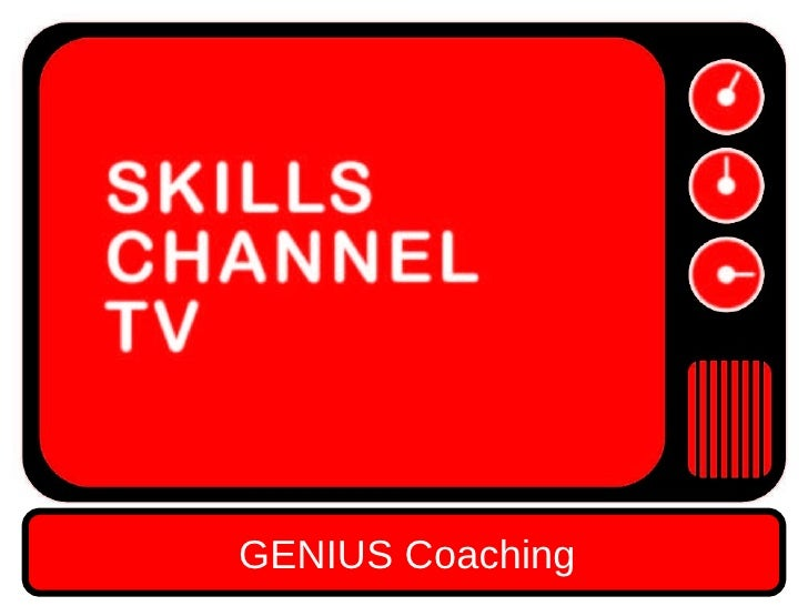 GENIUS COACHING A COACHING MODEL FOR GETTING THE BEST OUT OF CREATIVE TALENT ALEC MCPHEDRAN COACHING NINJA GENIUS Coaching