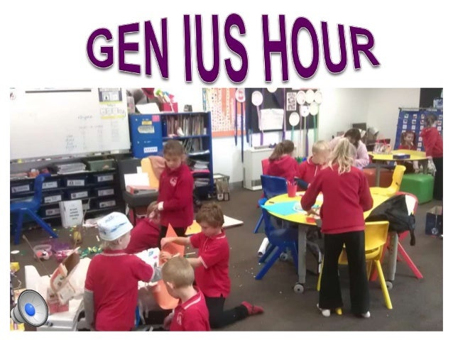 Genius Hour - Prep/One All-Stars!