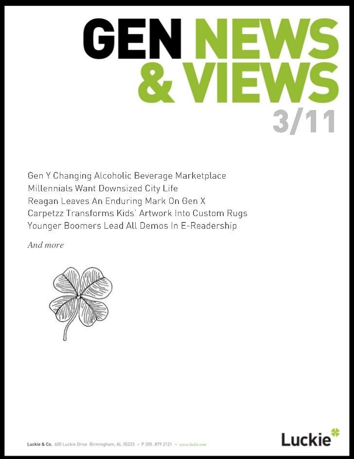 Generational News & Views March 2011
