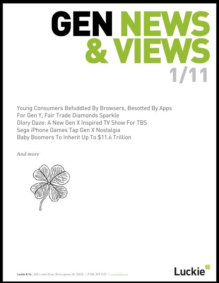 Generational News & Views January 2011