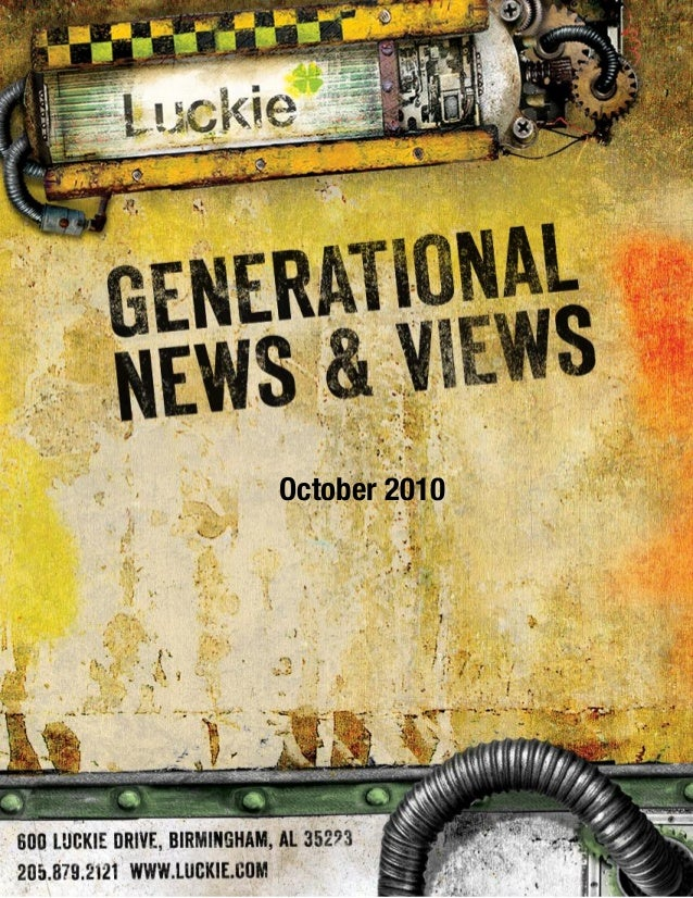 Generational News & Views October 2010