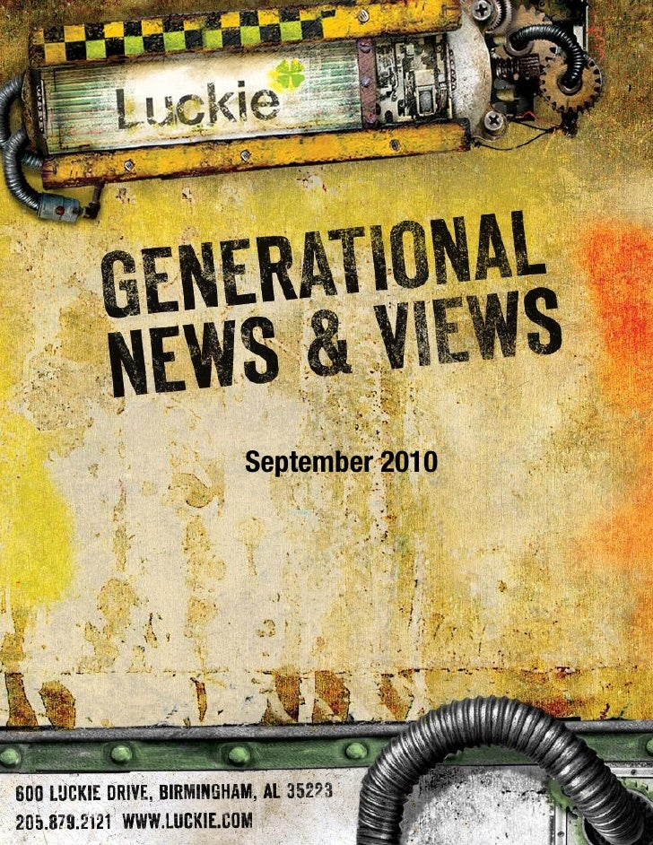 Generational News & Views September  2010