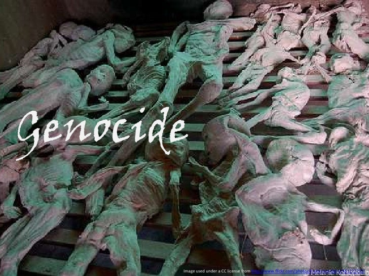 Genocide<br />Image used under a CC license from http://www.flickr.com/photos/melanieandjohn/461212212/<br />