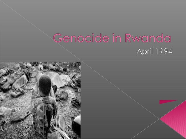  Genocide is defined as the systematickilling of all of the people from anational, ethnic, or religious group, or anattem...